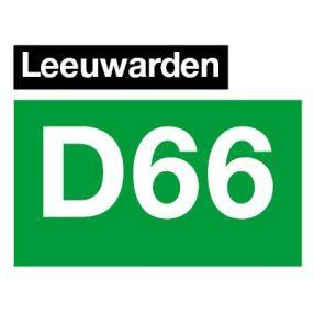Logo van D66 Leeuwarden
