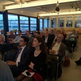 Volle zaal bij de ALV van D66 Duurzaam